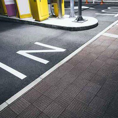 A carpark towing.